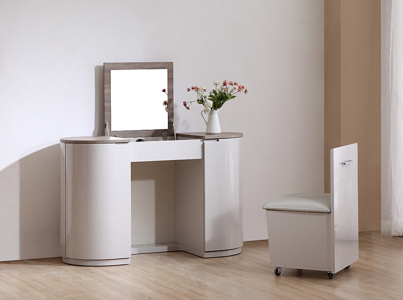 Hayley Vanity Unit With Stool Gcl Bedrooms